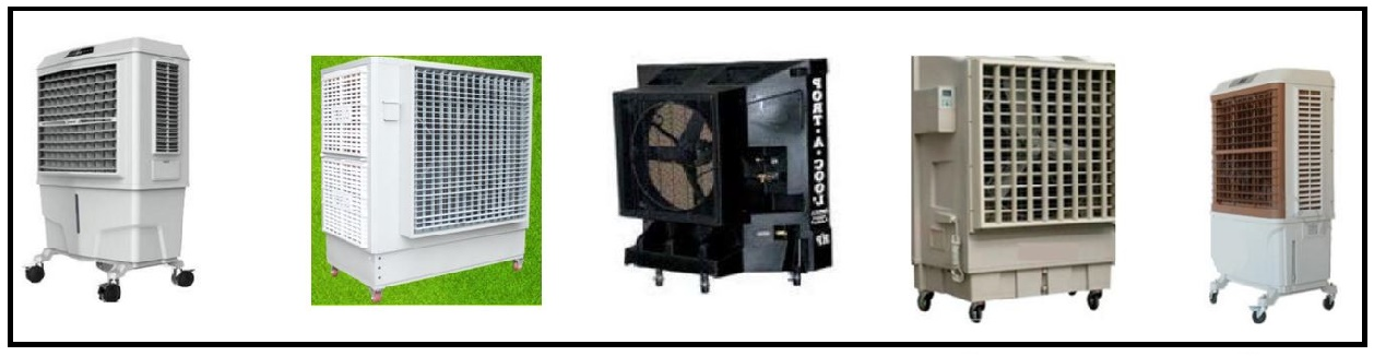 Outdoor cooling machines